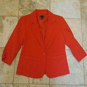 NWOT red/orange blazer